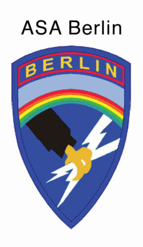 Army Security Agency USASA Field Station Berlin Teufelsberg Fridge Magnet v.3Other Militaria - 135