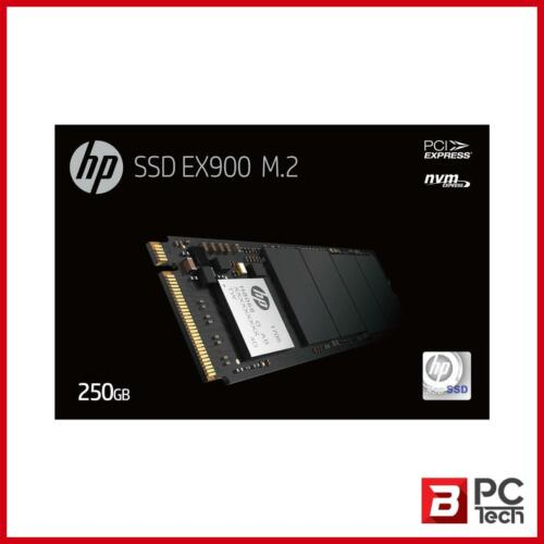 HP SSD EX900 M.2 NVMe 250GB, 3D TLC with HP Controller H8038 and 2100/1500 Ma...
