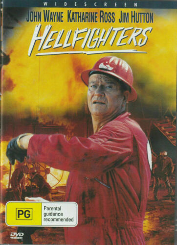 Hellfighters DVD John Wayne Katherine Ross Jim Hutton New and Sealed All Regions