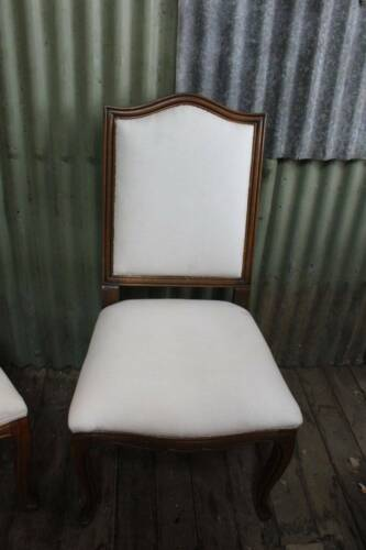 A French Provincial Oak Chair - Needs Fabric & Trim - Another in another Listing