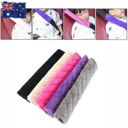 Car Interior Cushion  Soft Plush Car Shoulder Pad Seat Safety Belt Covers