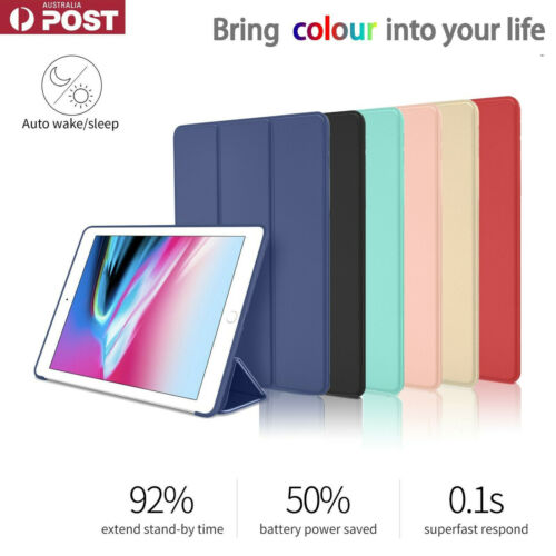 Shockproof Smart Cover Case for iPad 8th 7th 6th 5th Gen Air 2 3 Mini 4 5 Stand