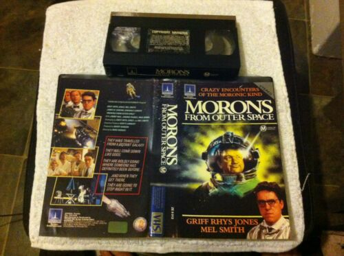 Space Raiders and Morons from Outer Sapce VHS Sci-fi Science Fiction Thorn EMI