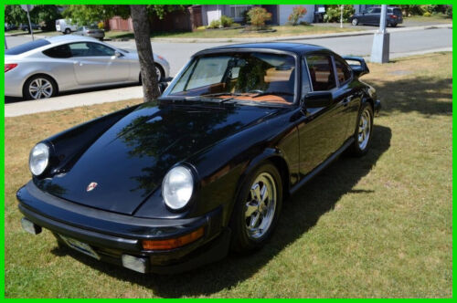 1977 Porsche 911 Carrera Coupe with Custom Interior, Engine & Sound 1977 Porsche 911 Carrera Coupe New Custom 3.2L 6-Cyl w 3,900 Mi 5-Spd Manual
