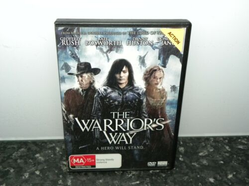 THE WARRIOR'S WAY DVD. A HERO WILL STAND - VGC - EX RENTAL