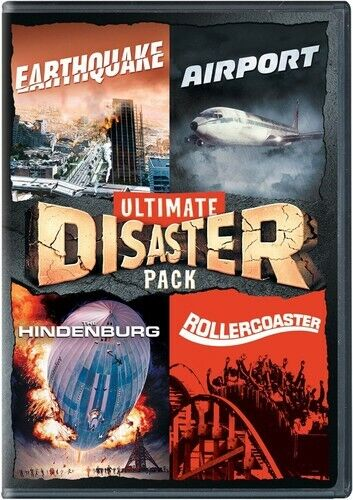 Earthquake 1974 / Airport 1970 / The Hindenburg 1975 / Rollercoaster DVD NEW