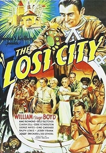 The Lost City (1935) DVD NEW