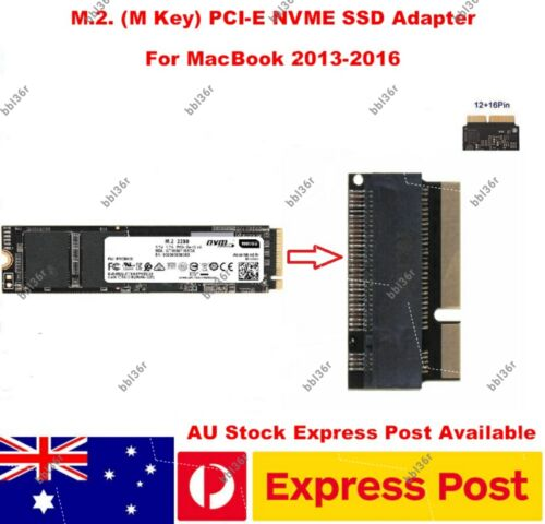 M.2. NVME SSD Adapter Converter for MacBook Pro Air 2013 2014 2015