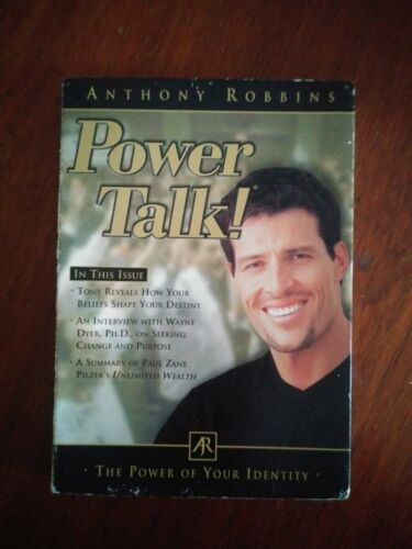 Anthony Robbins Power Talk - The Power of Your Identity CD