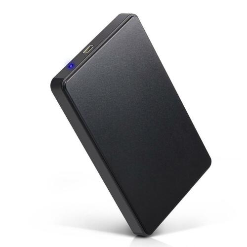 "USB 3.0 Hard Drive Disk 2.5"" SATA HDD SSD External Slim Enclosure Case"