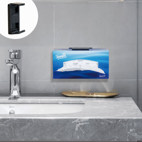 Kitchen Storage Tissue Wall Mount Holder for Kleenex Facial Tissues Paper Box