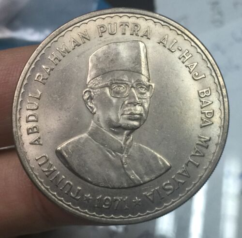 1971 Parliament rm5 crown coin-very nice details