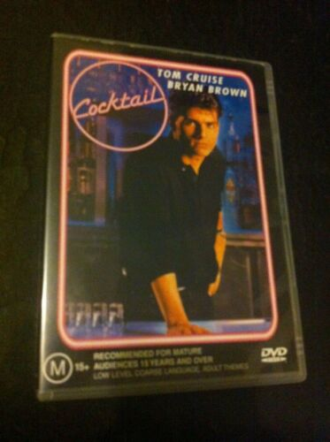 Cocktail DVD Tom Cruise Bryan Brown Manhattan New York Jamaica Elisabeth Shue