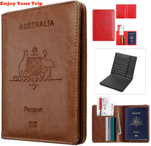 Rfid Blocking Passport Holder for Travel Accessories Passport Purse Card Wallet <br/> ◆ 7 Colors For Yours Best Gifts