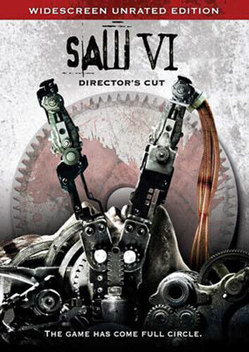Saw 6 (Directors Cut, Unrated) DVD NEW