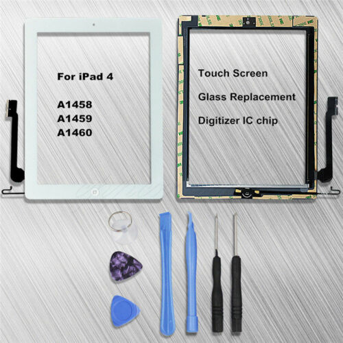 For iPad 4 A1458A1459A1460 Touch Glass Screen Digitizer Replacement&Express post