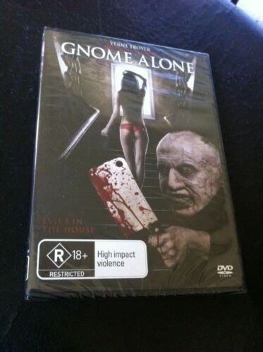 Gnome Alone DVD new sealed horror Verne Troyer From Austin Powers Mini Me PAL