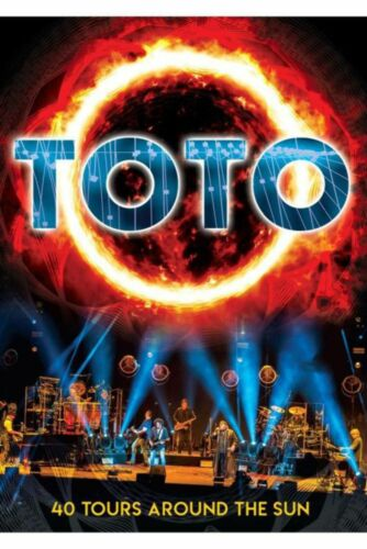 Toto - 40 Tours Around The Sun (R0) - DVD - Music