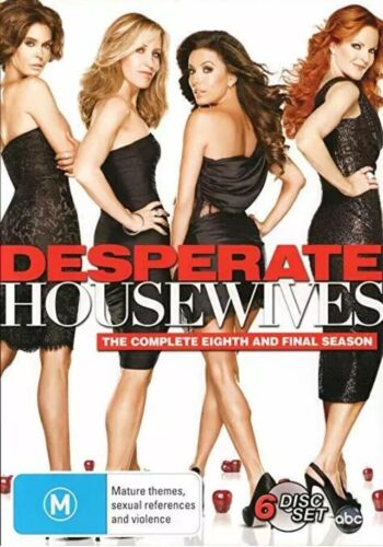 Desperate Housewives Complete Eighth Final Series Season 8 DVD Aus Region 4