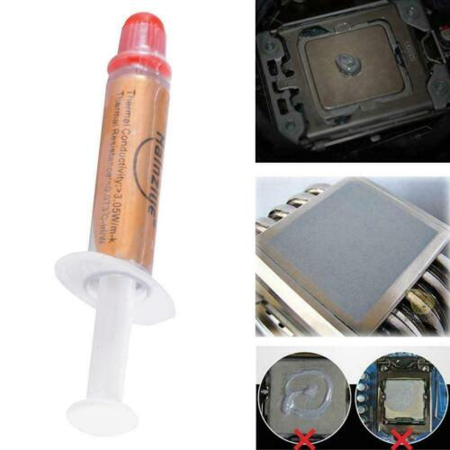 High Performance Silver Thermal Grease Cpu Heatsink Syringe Paste Compound O6m4