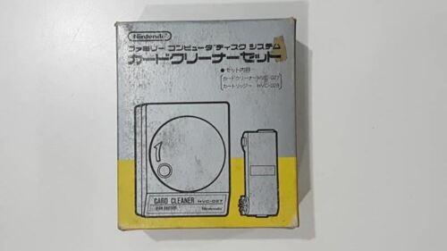 Nintendo Famicom Disk System Card Cleaner Set