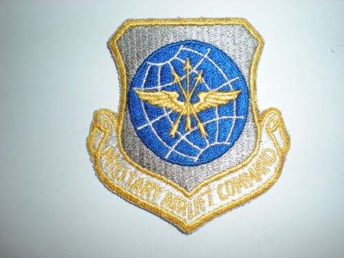 USAF MILITARY AIRLIFT COMMAND MAC PATCH - COLORAir Force - 66528