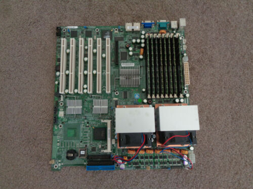 NEW/Never - Used Supermicro X6DHE-XB dual Intel Xeon 3.2G 8G RAM Motherboard