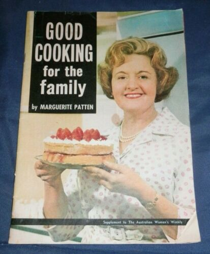 GOOD COOKING for the Family by Marguerite Patten (1960's) FREE POSTAGE