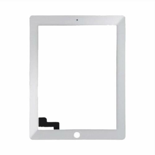 for iPad 2 Digitizer touch screen white adhesive inc