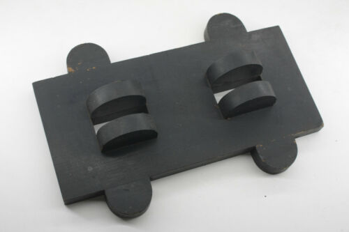 """Lamson Industrial Foundry Wood ~12"""" Guide Machine Mold Pattern Part M72E"""
