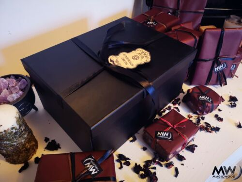 Secret Witchcraft box, wicca, witch, apothecary