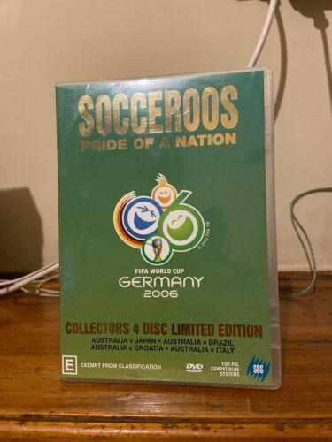 Socceroos Pride of a Nation DVD 2006 soccer world cup numbered limited edition
