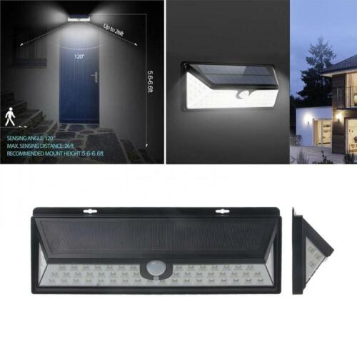 54 LED Solar Motion Sensor Light Outdoor Garden Security Lamp Floodlight automat