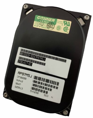 Conner CP30200 3701417-01 213 MB