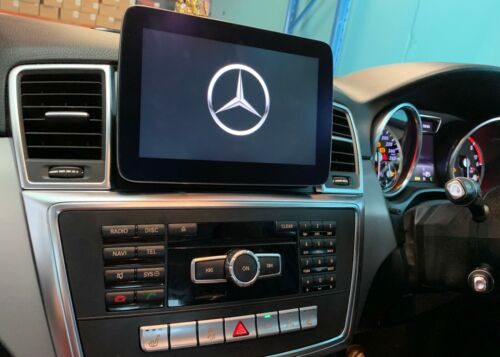 """2012-2015 Mercedes Benz ML/GL 9"""" Android screen with apple carplay &Android Au"""