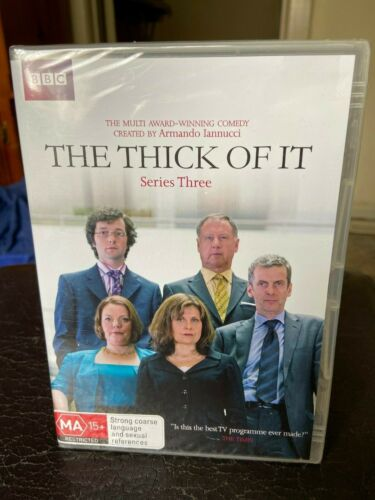 The thick of it Series 3 DVD PAL Region 4 four New Sealed political comedy BBC