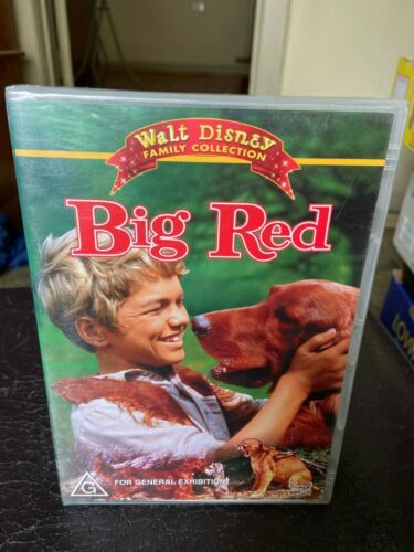 Big Red DVD Region 4 brand new sealed Walt Disney Family Collection adventure