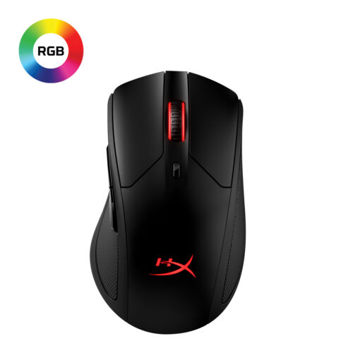 HyperX Pulsefire Dart - Wireless RGB Gaming Mouse - Software-Controlled