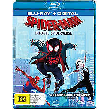 YouSpider-Man - Into The Spider-Verse (Blu-ray, 2019, 2-Disc Set)