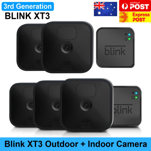Blink XT2 Home Security Wireless Battery Powered Camera Includes SYNC MODULE Au