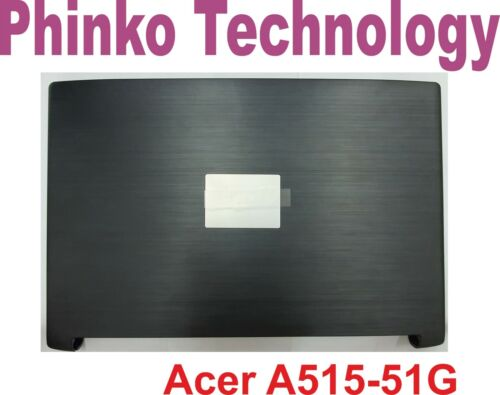 NEW Acer Aspire 5 A515-51 A515-51G Bezel + Top Cover LCD Back Lid + Hinges BLACK