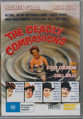 THE DEADLY COMPANIONS (1961 MOVIE - DVD SEALED + FREE POST)