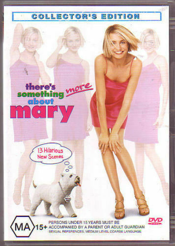 THERE'S SOMETHING MORE ABOUT MARY (2 DISC DVD SET SEALED + FREE POST)