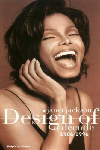 JANET JACKSON (DESIGN OF A DECADE 1986-1996 - *RARE* DVD SEALED + FREE POST)