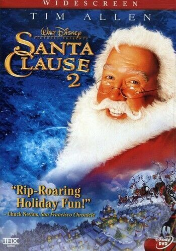 THE SANTA CLAUSE (2002 MOVIE - DVD SEALED + FREE POST)