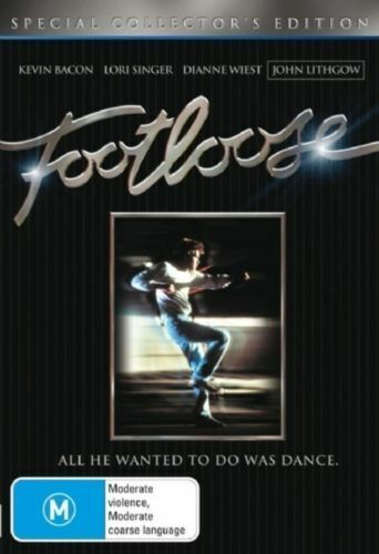 FOOTLOOSE (1984 MOVIE - COLLECTOR'S EDITION DVD SEALED + FREE POST)