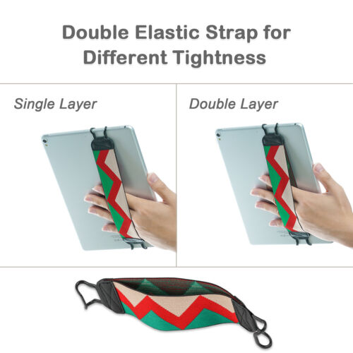 TFY Elastic Anti-drop Hand Strap Holder for i Pad Pro / mini 4 / Air 2 and More