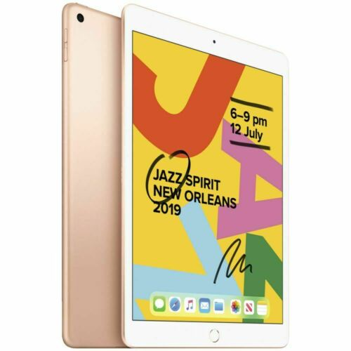 NEW Apple iPad 7th Gen. 10.2in 128GB WiFi + 4G Gray Silver Gold Cheap [AU STOCK]