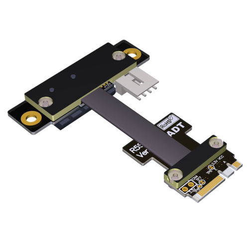 ADT-Link M.2 WiFi A.E Key Adapter M.2-AEkey to PCIE X1 Adapter Extension Cable