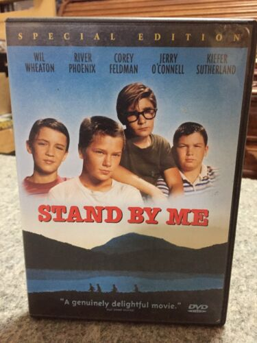 STAND BY ME - DVD R4 - WIL WHEATON, RIVER  PHOENIX, KIEFER SUTHERLAND